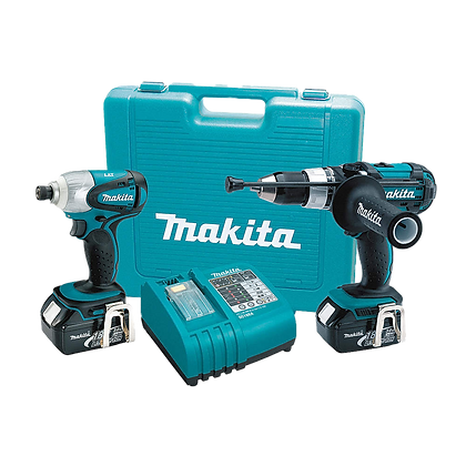 MAKITA 18V LXT LITHIUM-ION CORDLESS 2-PX COMBO KIT