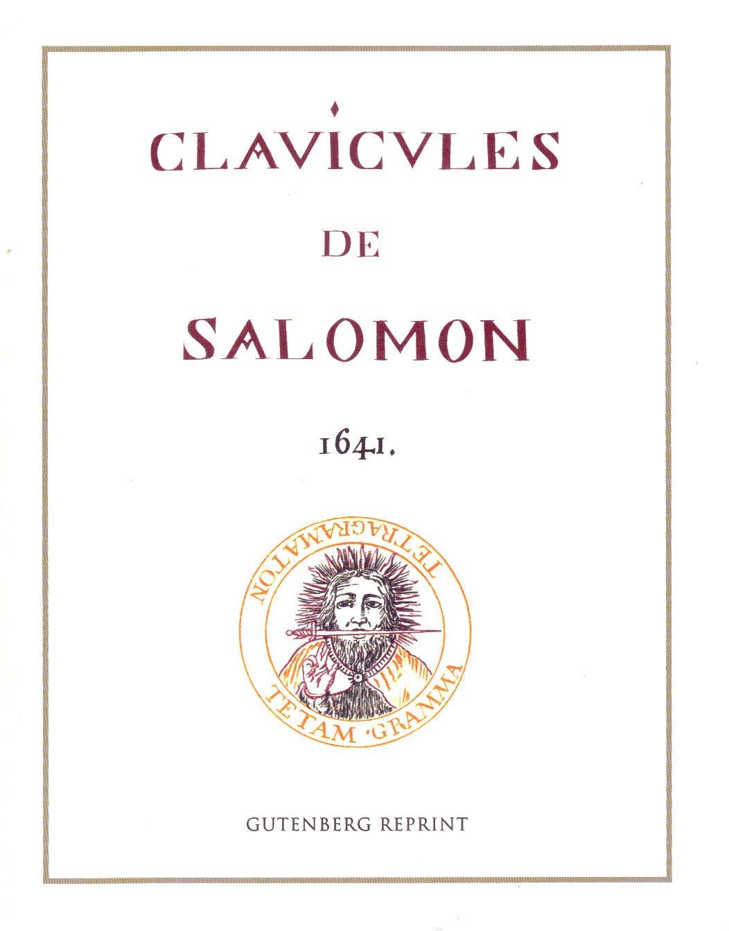 Clavicvles de Salomon