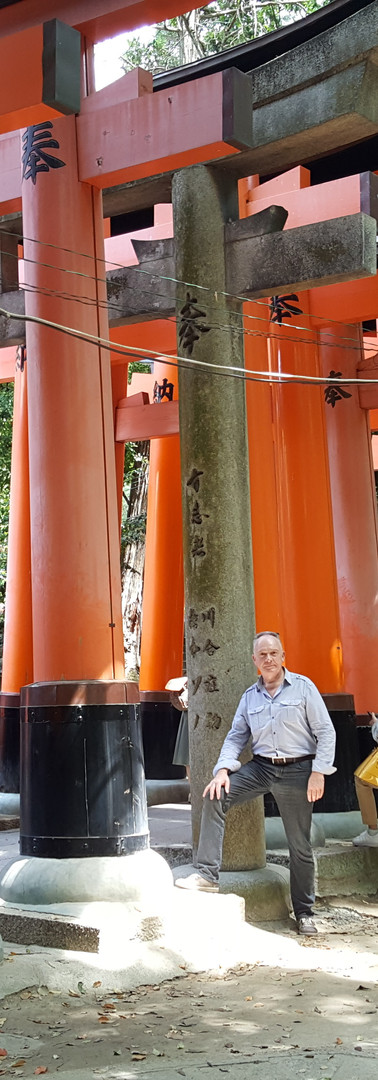 17 The Fushimi Inari-taisha Shrine