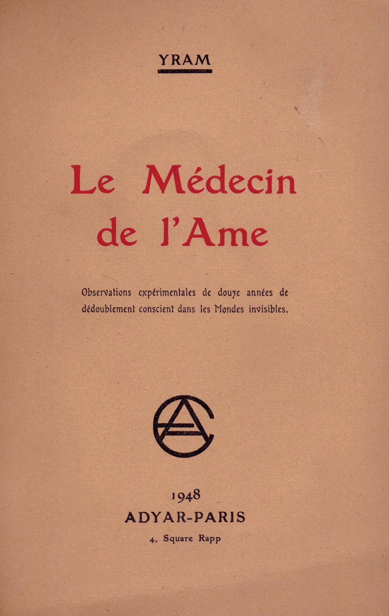 Le Médecin de l'Ame