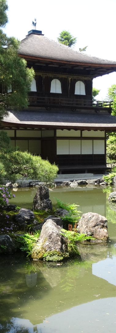 28 Ginkaku-ji (Temple of the Silver Pavilion)