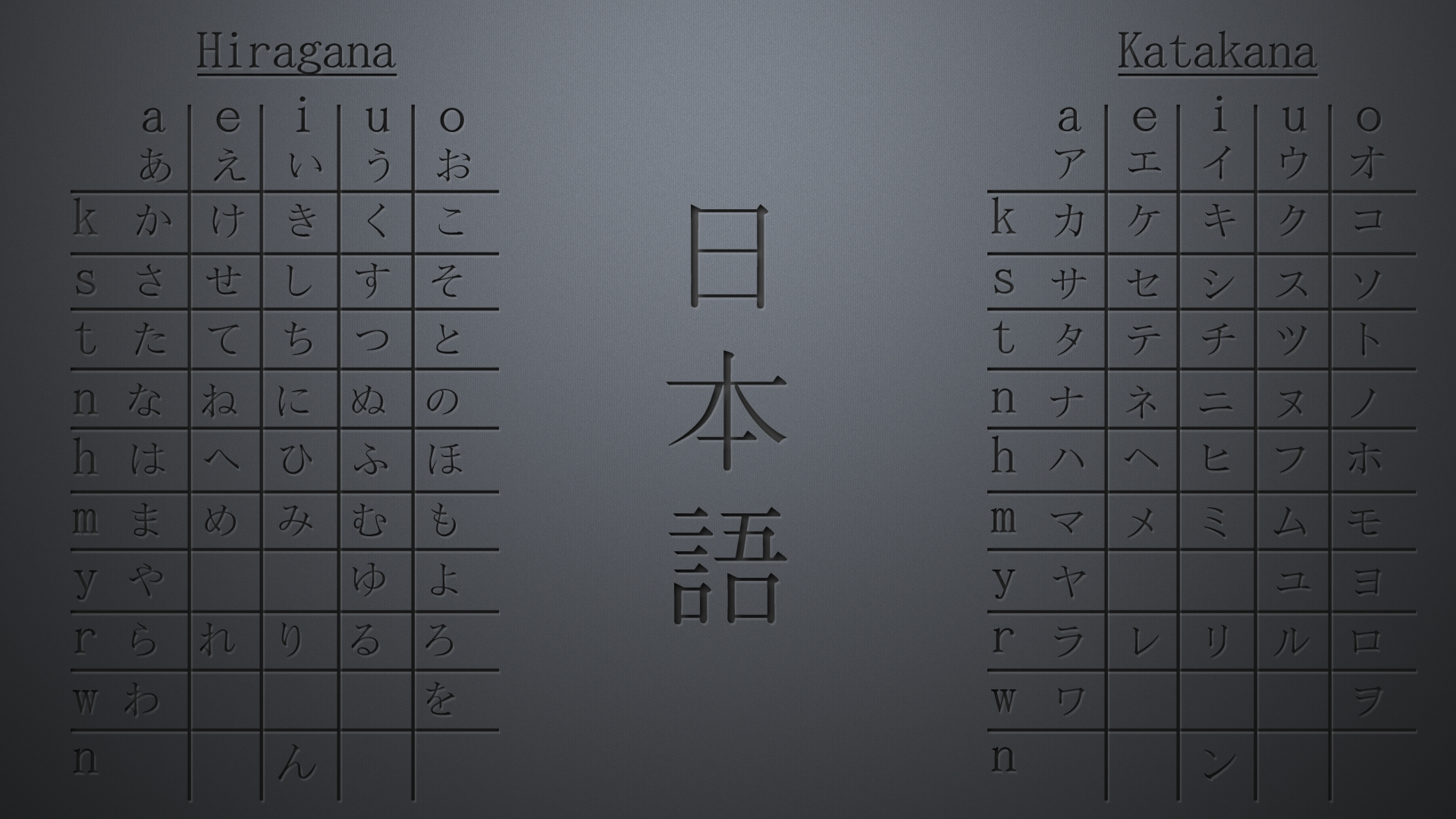 3 japan hiragana