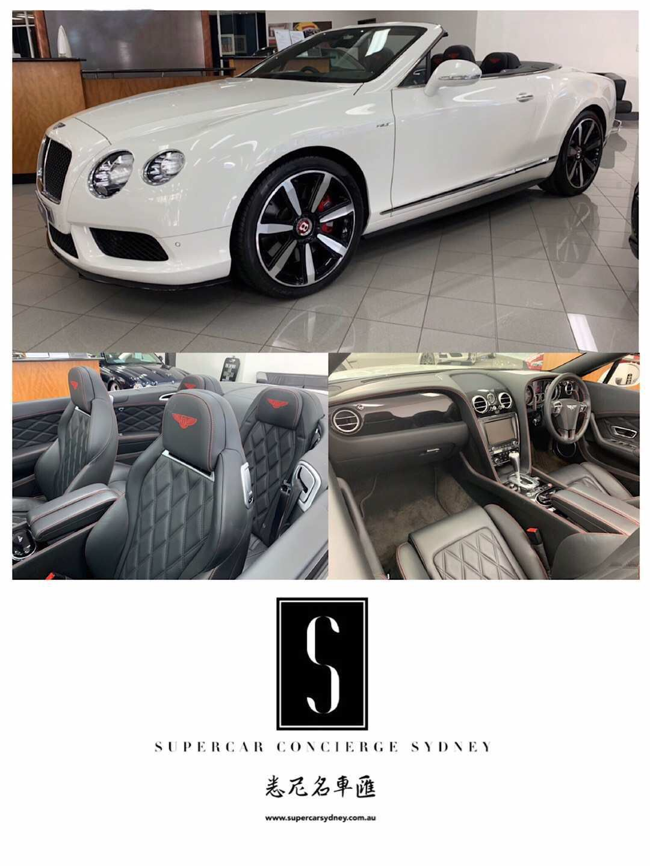 2015 Bentley Continental V8S