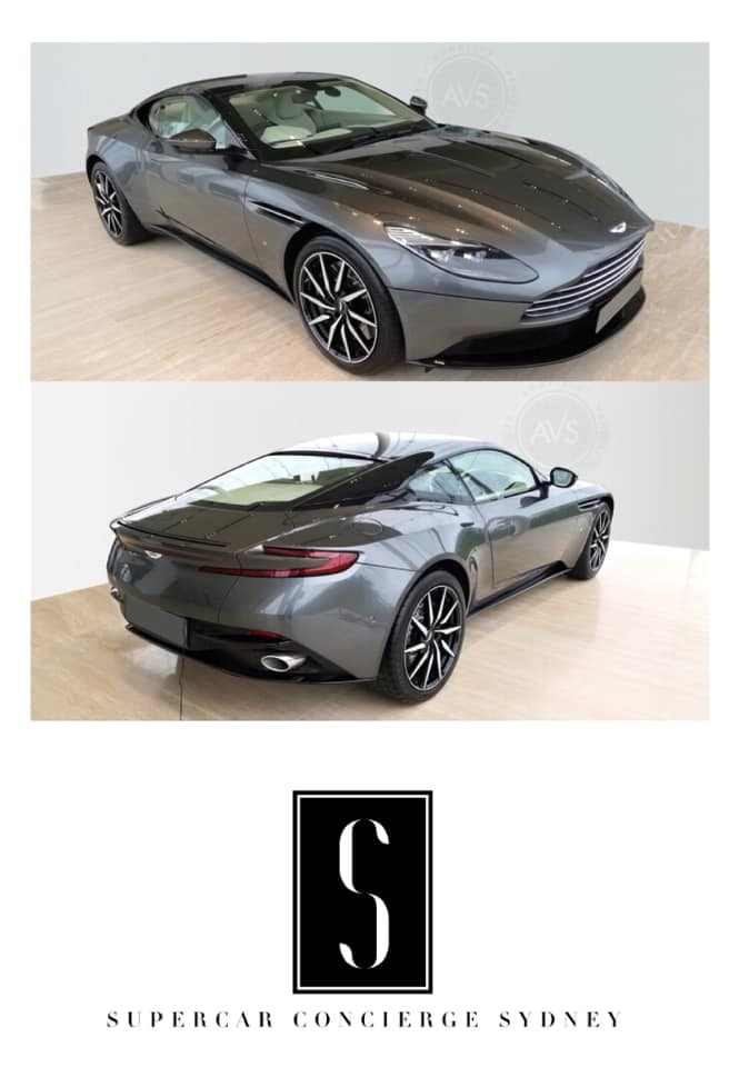 MY17 Aston Martin DB11 V12