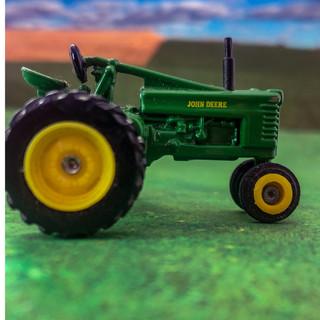 Classic John Deere tractor.