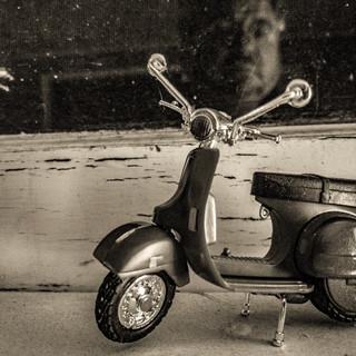 Moped Self Portrait