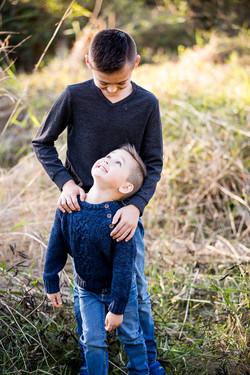 Lucian & Xavier Fall Family Photos