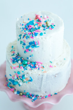The Daily Hoopla blog Champagne Cake