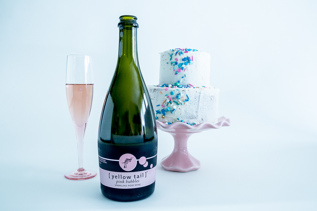 The Daily Hoopla Champagne Cake