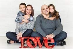 Keller Family Holiday Photos