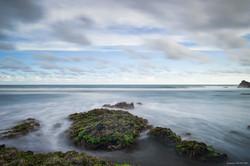 Blue Sea Cloud Day