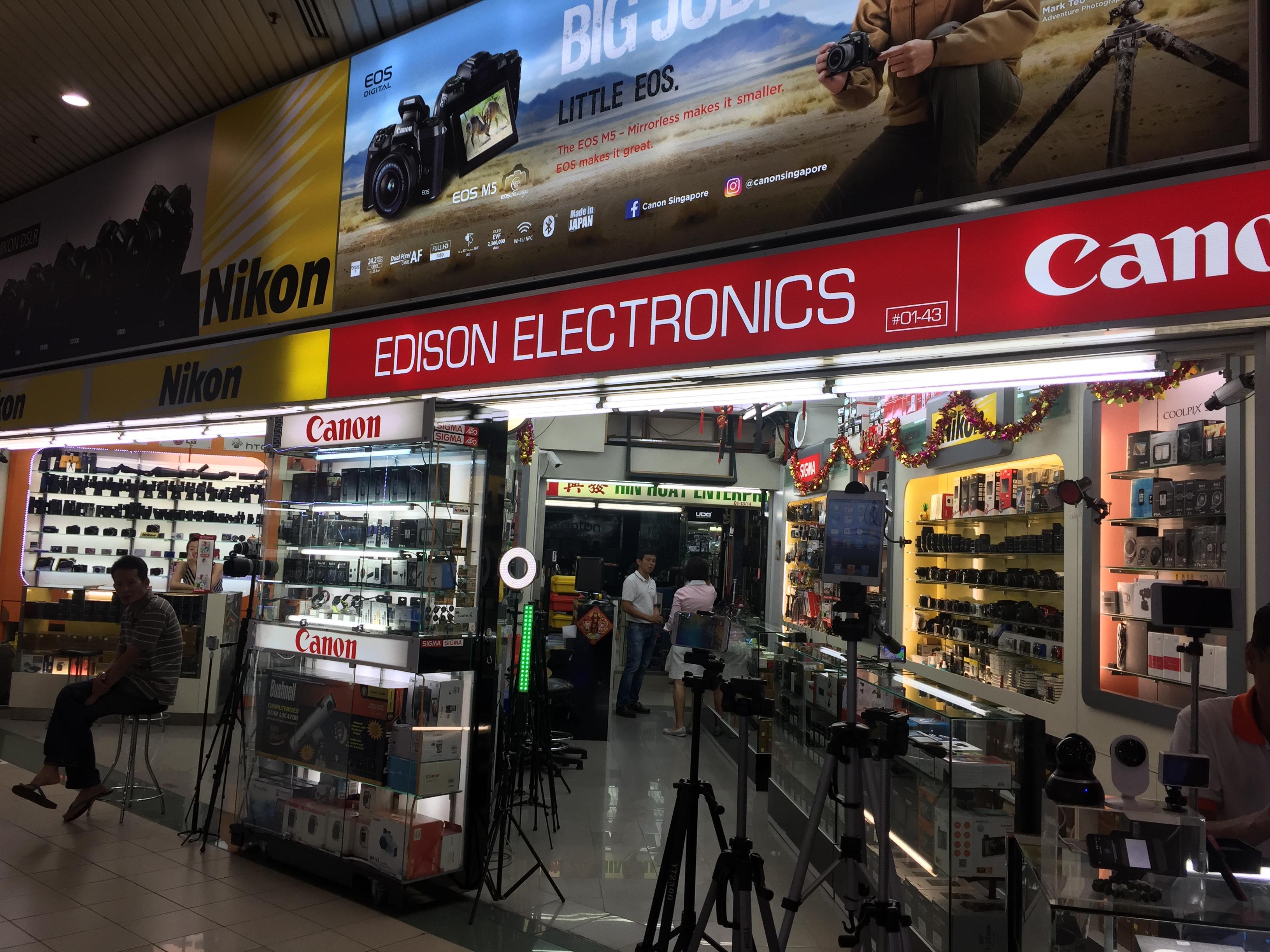 Edison Electronics (Sim Lim Square)