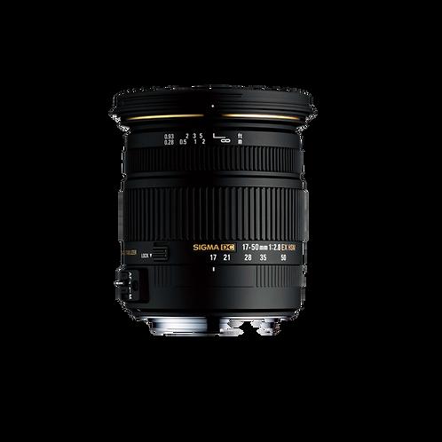 17-50mm F2.8 EX DC (OS)* HSM