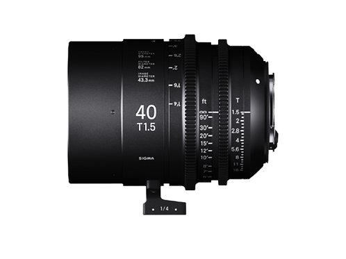 40mm T1.5 FF HIGH SPEED PRIME