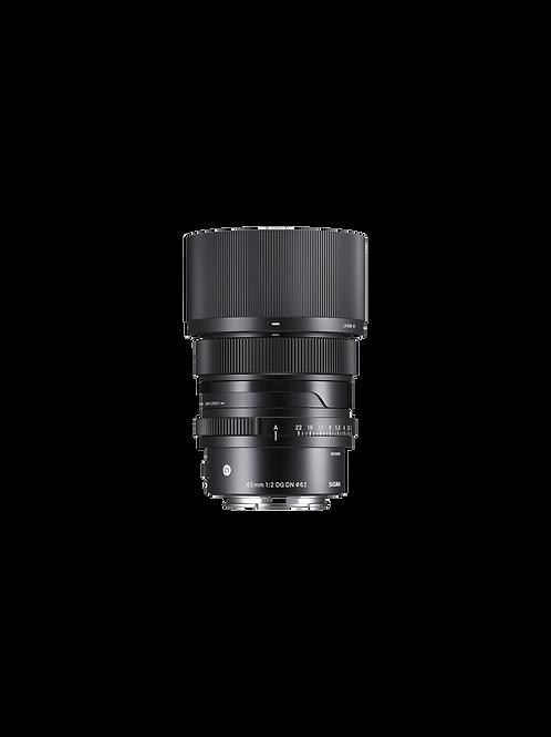 65mm F2 DG DN | Contemporary