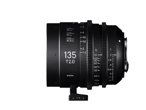 135mm T2 FF HIGH SPEED PRIME