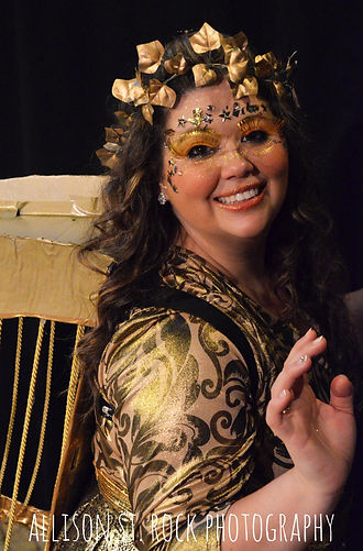 Cait Farrell as Bernadette in 'Jack and the Beanstalk' by Good Idea Bears