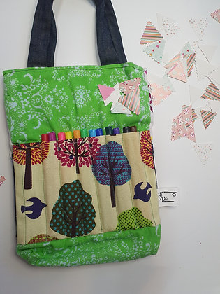 Art & crafts supply and travel bag