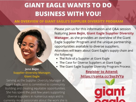Giant Eagle Wants To Do Business With You!