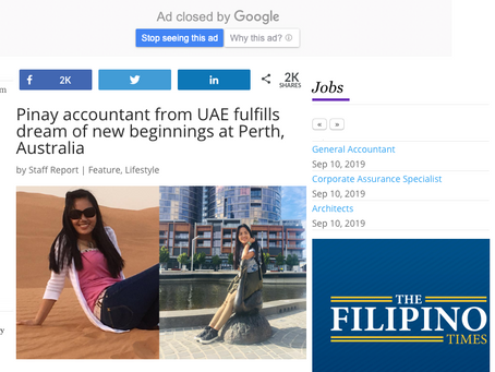 Accountant from UAE fulfills dream of new beginnings at Perth, Australia