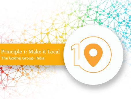 Introducing Principle 1: Make it Local