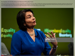 Bloomberg Equality Conf., May 2018