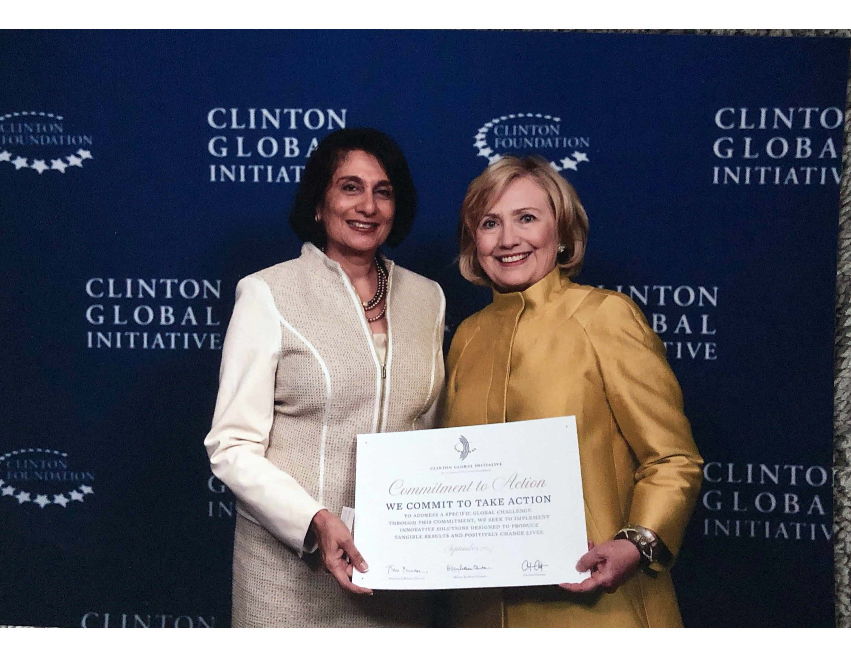 Clinton Global Initiative, Sept 2014