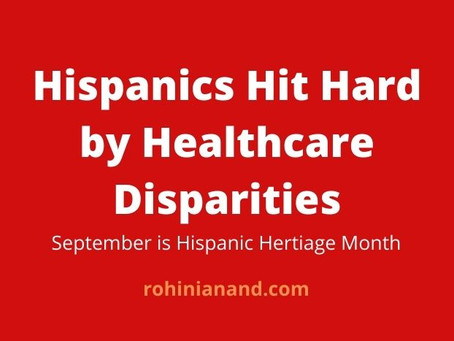 Hispanic Heritage Month: The Latinx Population and the Toll of  COVID-19