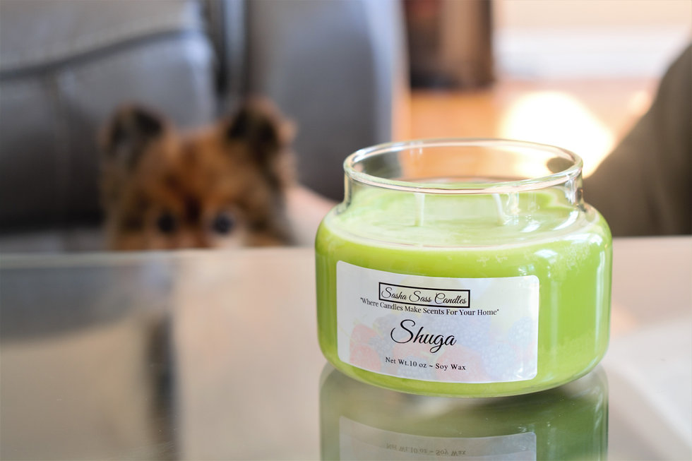 10 oz pear soy candle