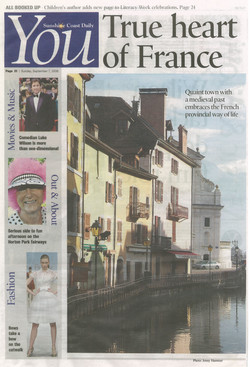 Annecy article - front page pic