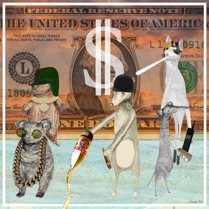 """New productions out on the double single """"Dollardrömmar / Rappare i sikte"""""""