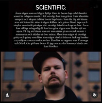 """Scientific chosen one of swedens best producers right now bu """"Suedihiphop"""""""