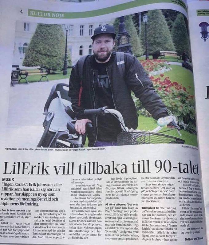 """Lil Erik Interviewed about """"Ingen Kärlek"""""""