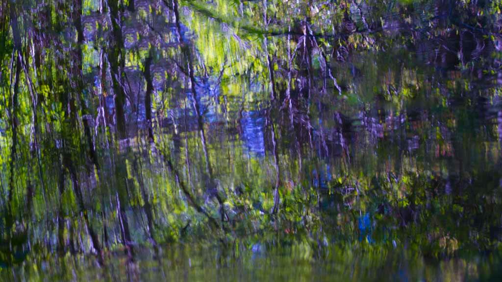 Hosmer Pond Blue Impression