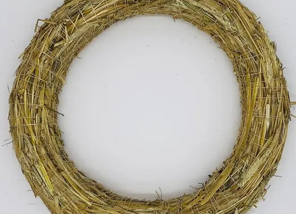 Straw wreath base 35cm