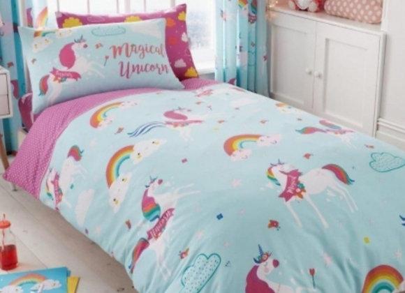 Magical unicorn duvet set