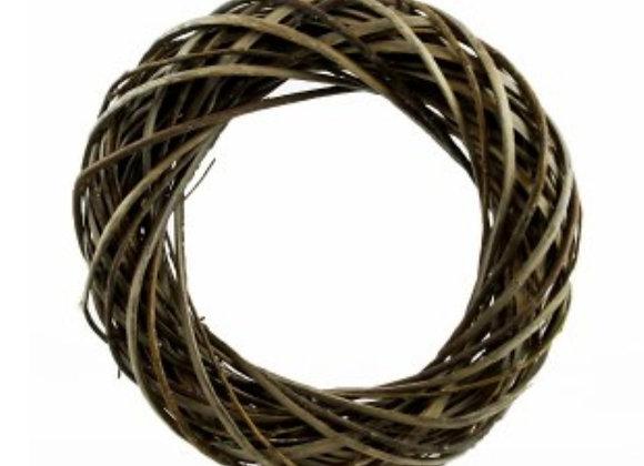 Natural wicker wreath base 20cm