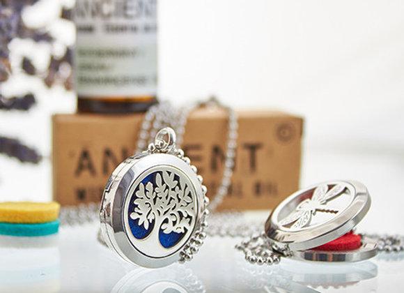 Aromatheraphy tree of life necklace