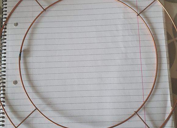 10inch wire wreath base
