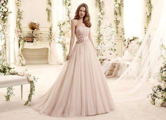 Blush pink ballgown