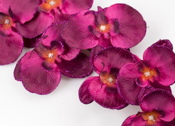 Orchid with glitter