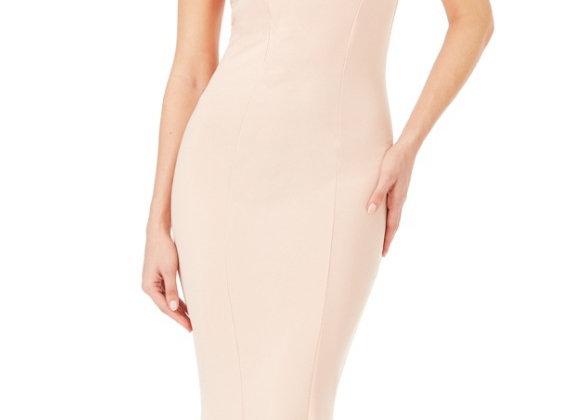 Rosa nude bridesmaid dress