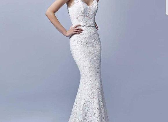 Beautiful soft lace fitted dress