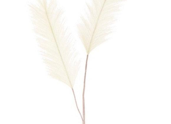 Artificial pampas white