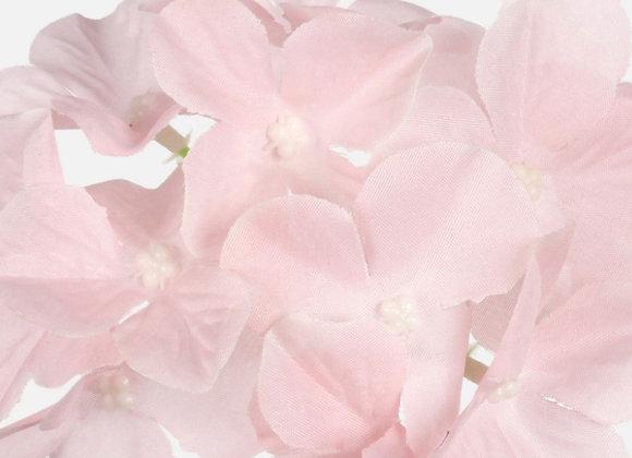 Hydrangea light pink heads only