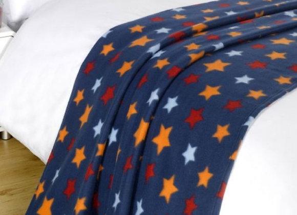Star fleece blanket