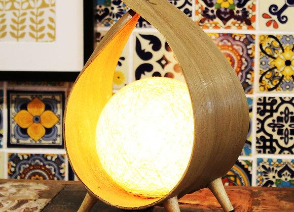 Natural Coconut lamp