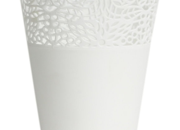 Plastic decorative pot