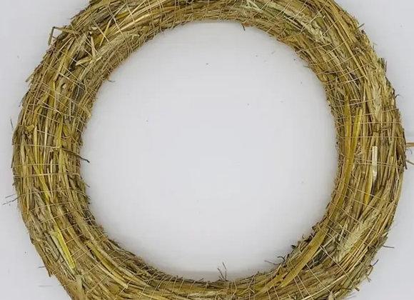 Straw wreath bases 30cm