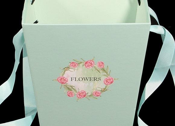 Green flower box